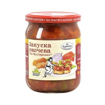 """Закуска овочева """"по-болгарськи"""""""
