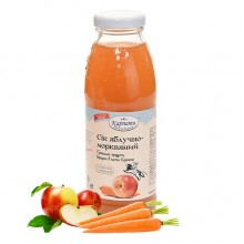 Яблучно-морквяний сік 0.3л